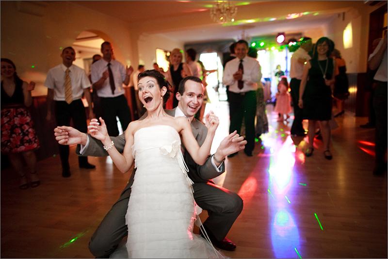 Fotografia ślubna reportaż taniec
