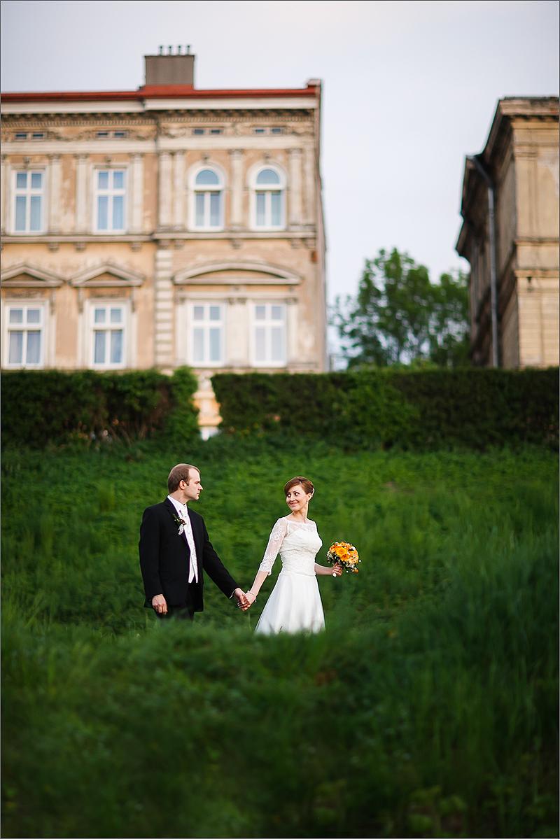 Zdjęcia ślubne i weselne Rzeszów plener panna młoda suknia ślubna